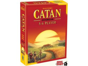 Catan 5-6 Player Extension (Engelsk Version)