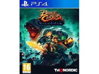 Battle Chasers Nightwar PS4 (PS4)