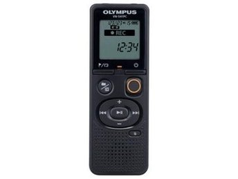 Olympus VN-541PC, 4GB with alkaline battery, Black, microUSB cable