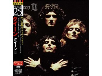 QUEEN 'II' 1998 Japan remastered paper-sleeve CD w/OBI