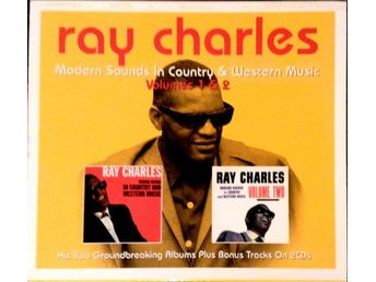 Ray Charles - Modern Sounds In Country & Western Music Volumes 1 & 2 (2xCD, Comp