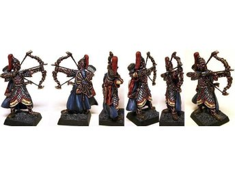 10 Elf Heavy Archers of Ancient Times High Highborn Elves 9th Age Warhammer 32mm
