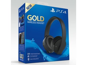 PS4 Wireless Gold headset 7.1
