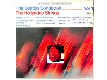 LP The Hollyridge Strings ‎– The Beatles Songbook Vol. 4