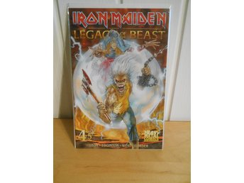 Iron Maiden - NY Legacy of the Beast Comic