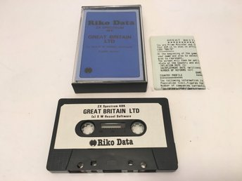 RIKO DATA Great Britain Ltd  - ZX Spectrum - 198? - Riko Data