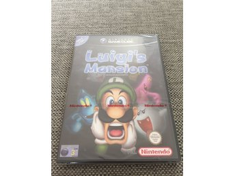 Luigis Mansion - Gamecube - GC - HELT NYTT! MINT!