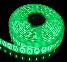 NEW DeluX 5m 12V SMD LED Slinga Tape  300LED IP66 ~  Green