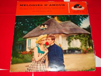 RAY MARTIN AND HIS ORCHESTRA - MELODIES D'AMOUR LP