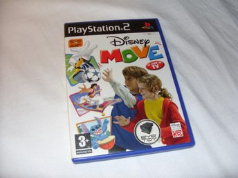 Disney Move - EyeToy Kamera spel till Playstation 2