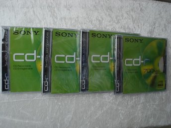 Sony CD-R 700 MB -- 4 st