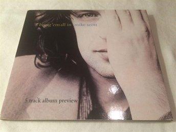 Mike Scott (Waterboys) - Bring em all in 5-spårs CD 1995 Promo - älvängen - Mike Scott (Waterboys) - Bring 'em all in 5-spårs CD 1995 Promo - älvängen