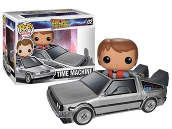 Pop! Movies: Rides! - Back To The Future - Delorean & Marty [02]