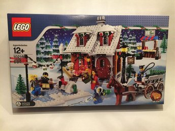 Lego 10216 Winter Village Bakery Vinter bageri Ny oöppnad