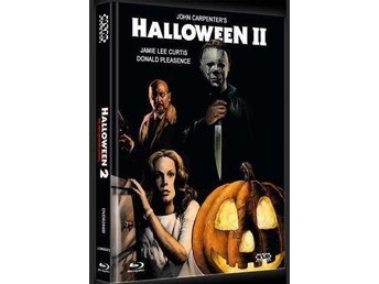 HALLOWEEN 2 (4 DISC Mediabook! DVD CD BLURAY) Donald Pleasence, J L Curtis - Norrsundet - HALLOWEEN 2 (4 DISC Mediabook! DVD CD BLURAY) Donald Pleasence, J L Curtis - Norrsundet