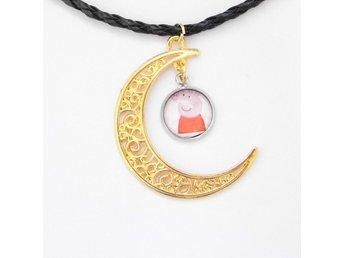 Peppa Pig Måne Halsband / Moon Necklace