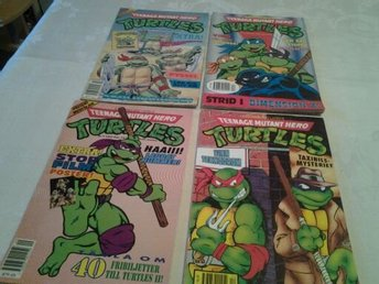Turtles tidningar 1991-92