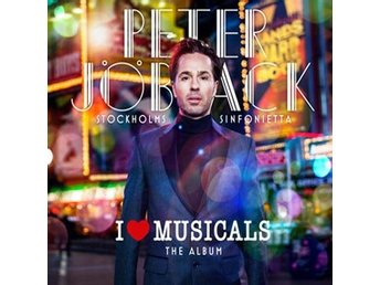 Jöback Peter: I love musicals 2013 (CD)