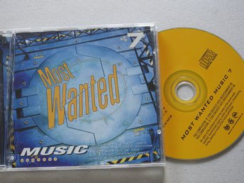 Most Wanted Music 7 CD (1998) E-Type,Boyzone,Aqua,The Tamperer.Fatboy Slim