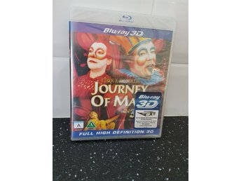 Blu-ray 3d - Cirque du soleil - journey of man - inplastad - svensk text