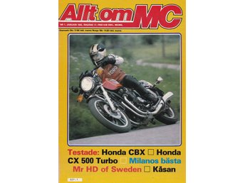 Allt Om Mc 1982-1 Honda CX 500 Turbo.Honda CBX.Suzuki OR 50