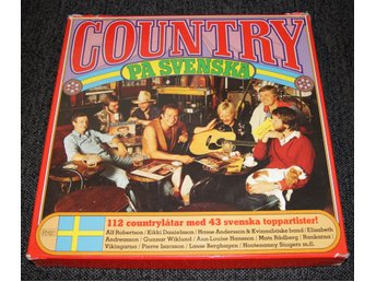 Country På Svenska ( S 83004SS ) X 8 LP