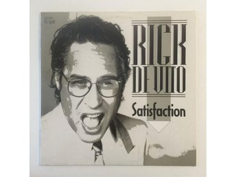 "RICK DE VITO - SATISFACTION. 12"" SINGEL"