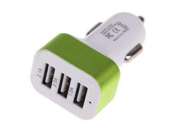 Köp 2 och 1st gratis! 3 USB Portar Billaddare Ciggladdare 3A - örebro - Köp 2 och 1st gratis! 3 USB Portar Billaddare Ciggladdare 3A - örebro