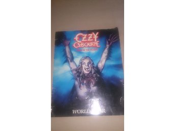turneprogram ozzy osborne bark at the moon world tour 84