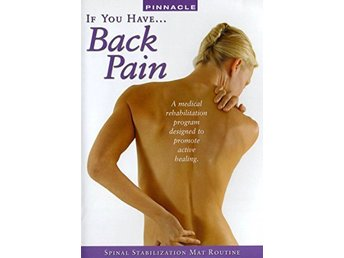 If You Have... Back Pain - Spinal Stabilization Mat Routine (DVD)