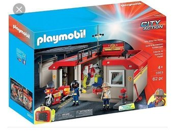 Playmobil Brandstation 5663 City Action