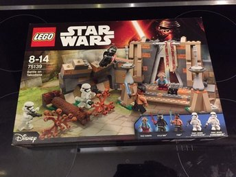 Lego Star Wars Battle on Takodana (75139) - Oöppnad
