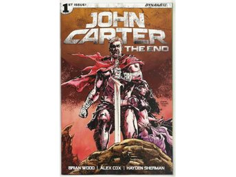 John Carter: The End # 1 Cover D NM Ny Import
