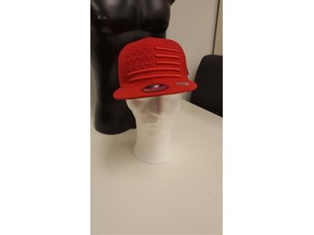 US Appearal hats Premium ALL RED Keps snapback
