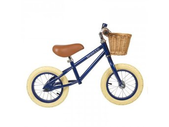 Banwood Springcykel First Go Navy Blå