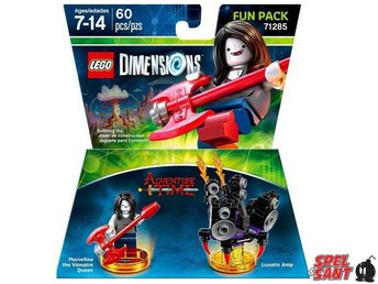 Lego Dimensions Adventure Time Marceline Fun Pack 71285