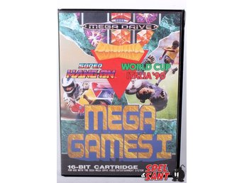 Mega Games 1 (Svensk Version & Utan Manual)