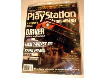 PLAYSTATION Mag  Nr16  NY CD  4/1999 DRIVER  I ORIGINALPLAST