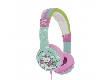HELLO KITTY Hörlur Junior On-Ear 85dB Grön/Enhörning