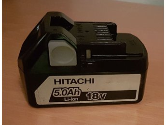 Hitachi batteri 18V 5,0Ah Li-ion 2016!