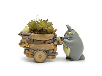 My Neighbor Totoro Mini Vase Flower Pot DIY Planter Bonsai Home Garden Decor