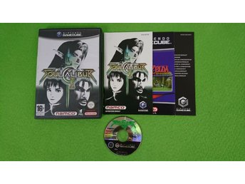 Soul Calibur 2 KOMPLETT Nintendo Game Cube gamecube