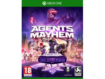Agents of Mayhem Day One Edition + Extra Material - Helt nytt till Xbox One! REA