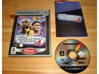 PS2: Pro Evolution Soccer 4 - PES 4