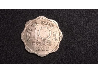 1963 India 10 Paise