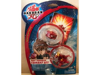 Bakugan TRAP 2-pack Dan´s Combat Set + 2 Kort