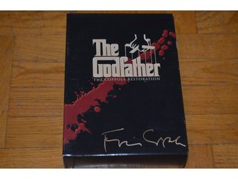 The Godfather - Gudfadern Collection 1-3 Box - 3-Disc DVD