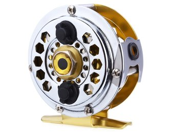 Fishing Reel Gold color Fly Reel