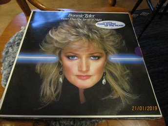 BONNIE TYLER - FASTER THAN THE SPEED OF NIGHT - LP