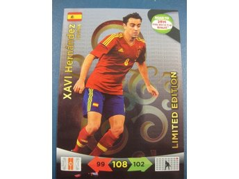 LIMITED EDITION - XAVI HERNANDEZ -  SPANIEN - ROAD TO 2014 FIFA WORLD CUP BRAZIL